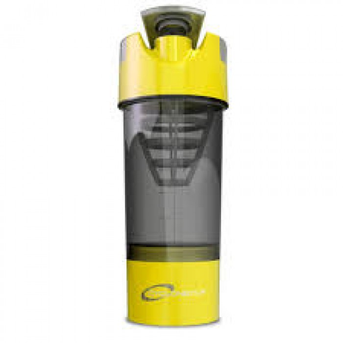 Shaker Cup 20 oz + 6 oz container (Yellow)