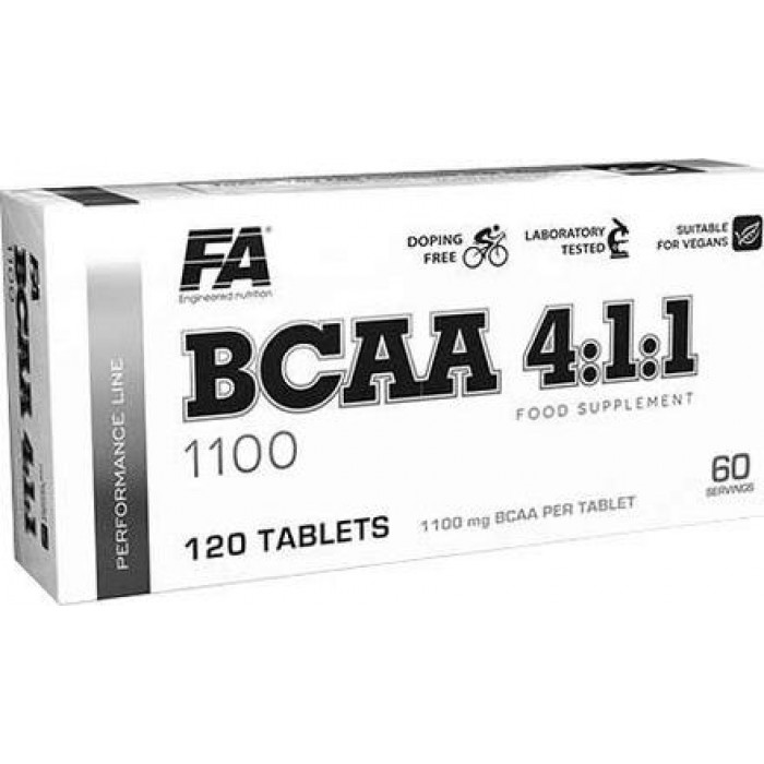 BCAA 4:1:1 1100 (120 таблетс)