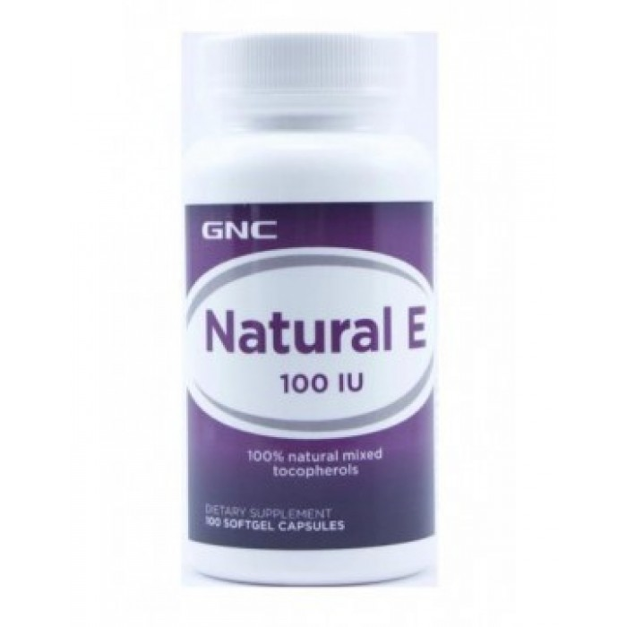 Natural E 100 (100 soft капсулы)