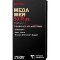 Mega Men 50 Plus (120 капсул)