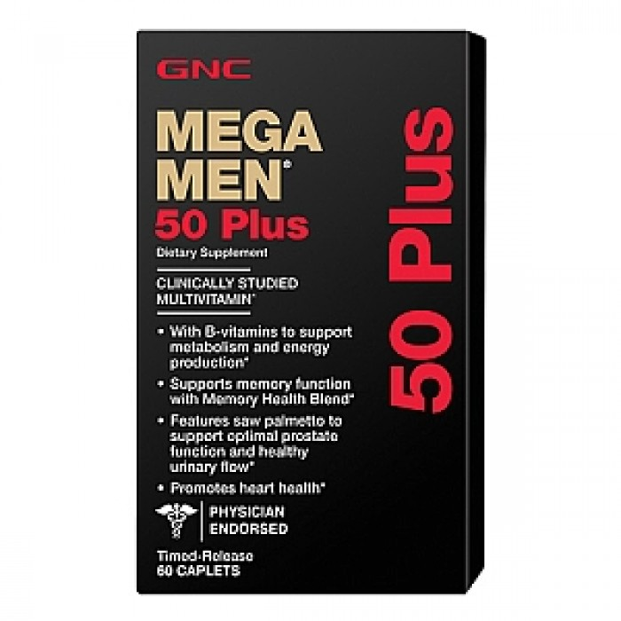 Mega Men 50 Plus (60 капсул)