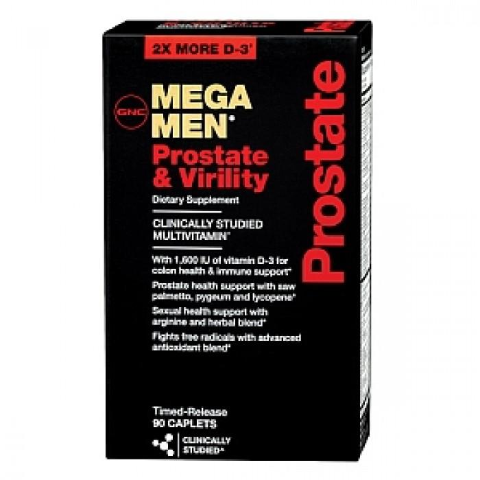 Mega Men Prostate & Virility (90 caplets)