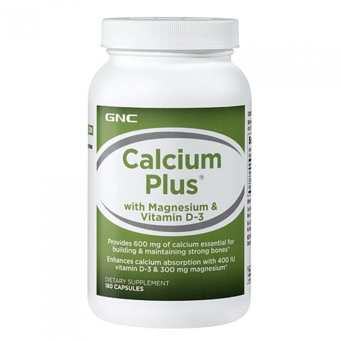 Calcium Plus 1000 with Magnesium & Vitamin D-3 (180 капсулы)