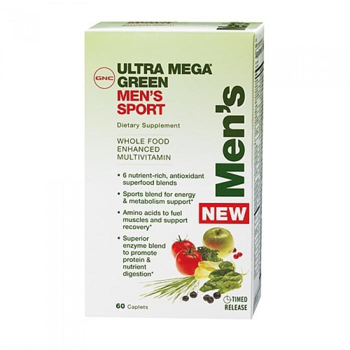 Ultra Mega Green Mens Sport (60 капсулы)
