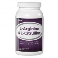 L-Arginine & L-Citrulline (120 cap)