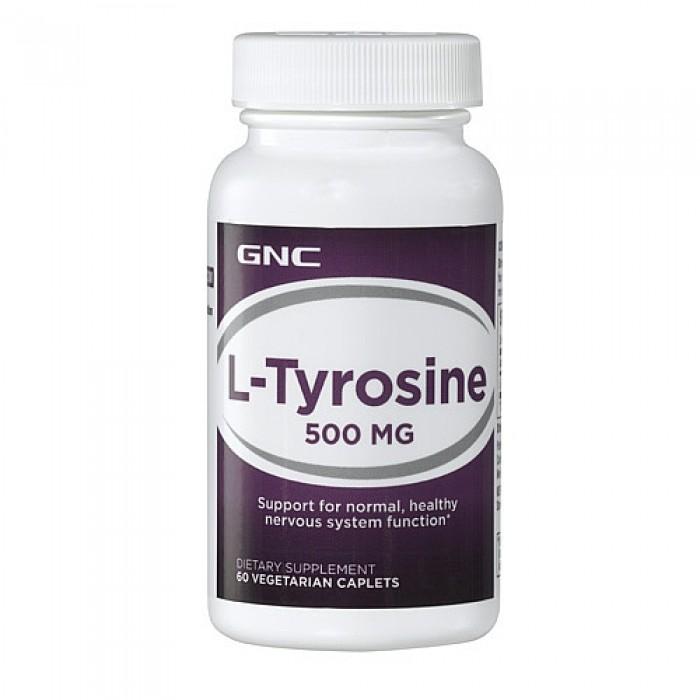L-Tyrosine 500 mg (60 veg cap)