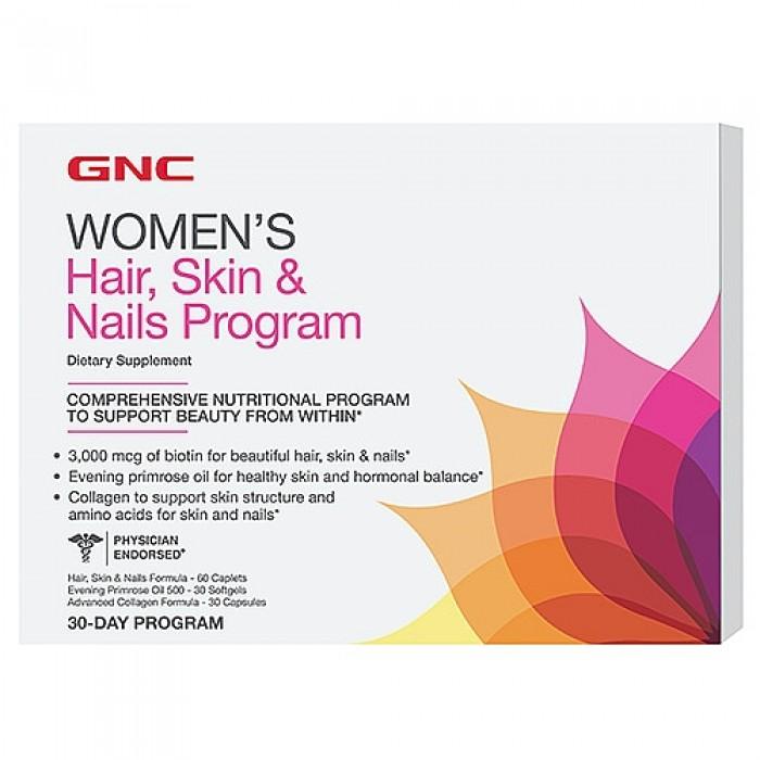 Women's Hair, Skin & Nails Program (30-day program)