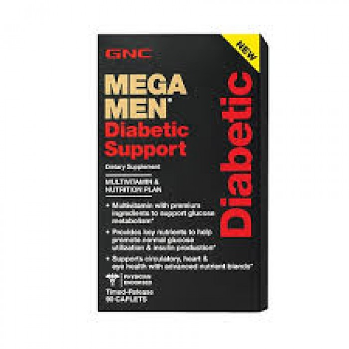 Mega Men Diabetic Support (90 таблетс)