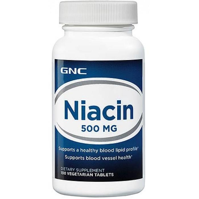 Niacin 500 (100 veg таблетс)