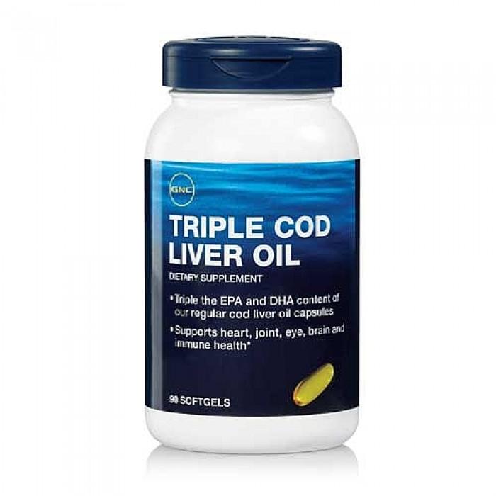 Triple Cod Liver Oil (90 softgel)