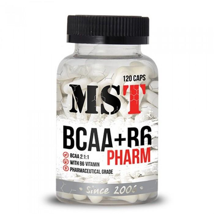 BCAA + B6 PHARM (120 капсул)