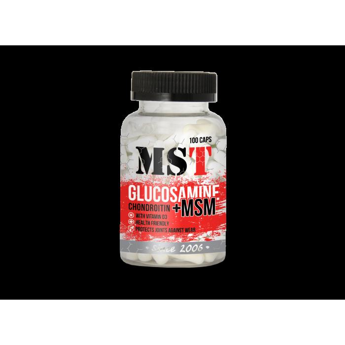 Glucosamine Chondroitin + MSM (100 капсулы)