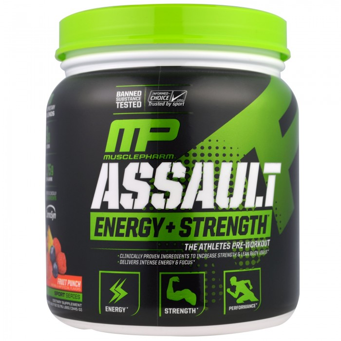 Assault Energy+Strength (333 грамм)