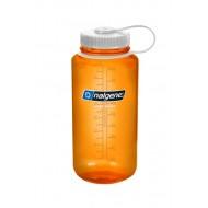 бутылка Nalgene Wide Mouth 1000ml Orange/White Loop