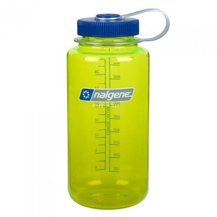 бутылка Nalgene Wide Mouth 500ml Tritan Safety Yellow