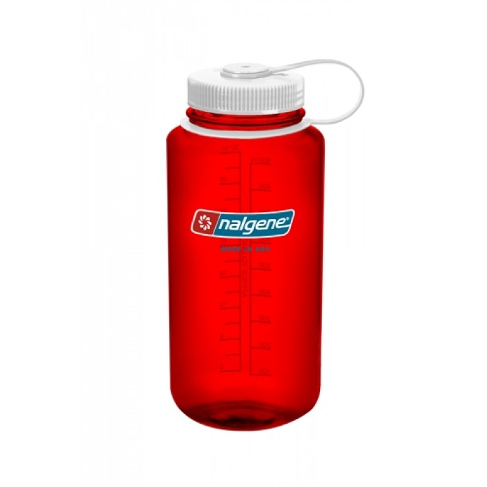 бутылка Nalgene Wide Mouth 1000ml Outdoor Red