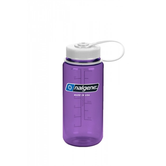 бутылка Nalgene Wide Mouth 500ml Purple/White