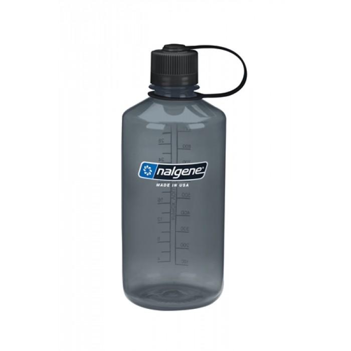 бутылка Nalgene Narow Mouth 1000ml Grey
