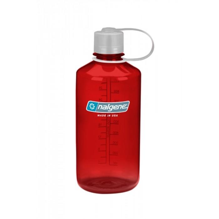 бутылка Nalgene Narow Mouth 1000ml Outdoor Red