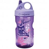 бутылка Nalgene Grip-n-Gulp 350ml Purple/Hoot