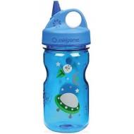бутылка Nalgene Grip-n-Gulp 350ml Blue/Space
