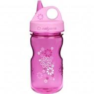 бутылка Nalgene Grip-n-Gulp 350ml Pink/ Wheels