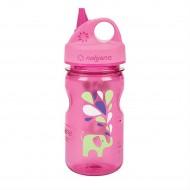 бутылка Nalgene Grip-n-Gulp 350ml Everyday Pink Elephant