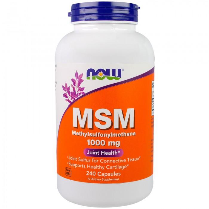 MSM 1000 mg (240 капсулы)