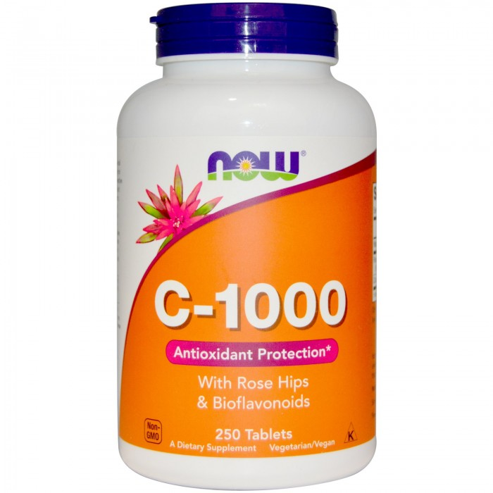 C-1000 with bioflavonoids (250 таблетс)