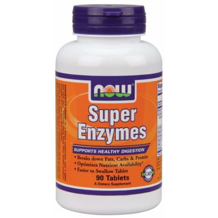 Super Enzymes (90 таблетс)