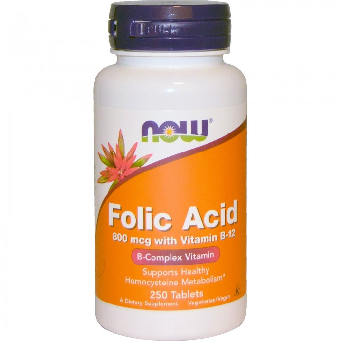 Folic Acid 800 mcg (250 таблетс)