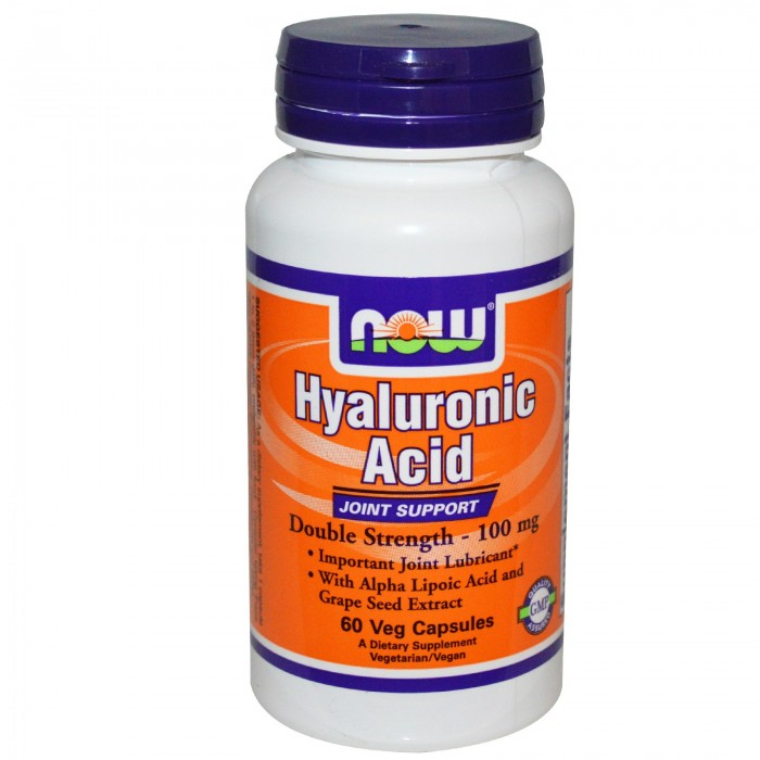 Hyaluronic Acid 2X Plus 100 mg (60 veg капсулы)