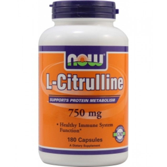 L-Citrulline 750 mg (180 veg капсулы)