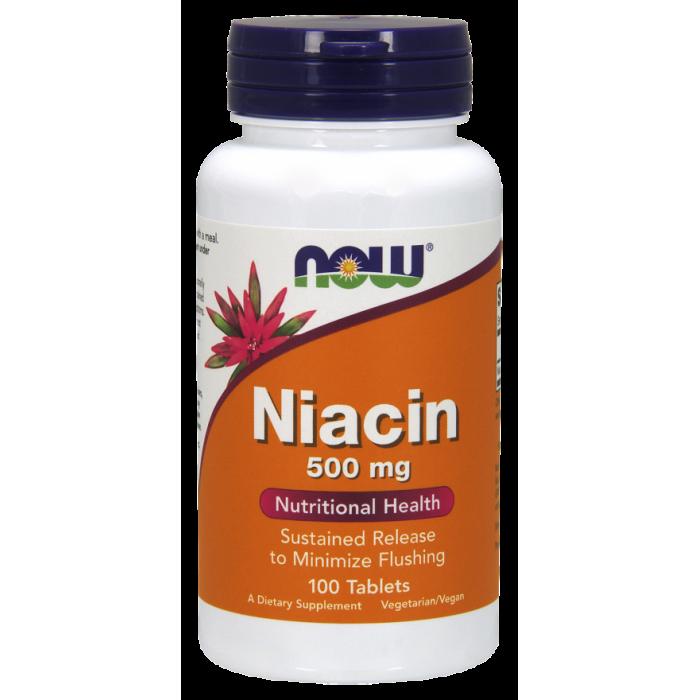 Niacin 500 mg (100 капсулы)