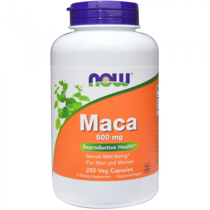 Maca 500 mg (250 veg капсулы)