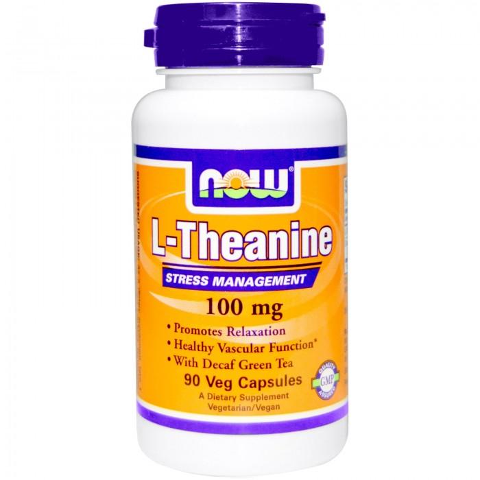 L-Theanine 100 mg (90 veg капсулы)