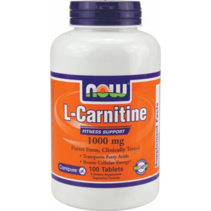 L-Carnitine Tartrate 1000 (100 таблетс)