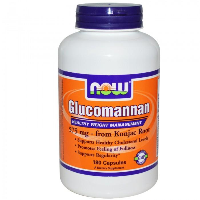 Glucomannan 575 mg (180 капсулы)