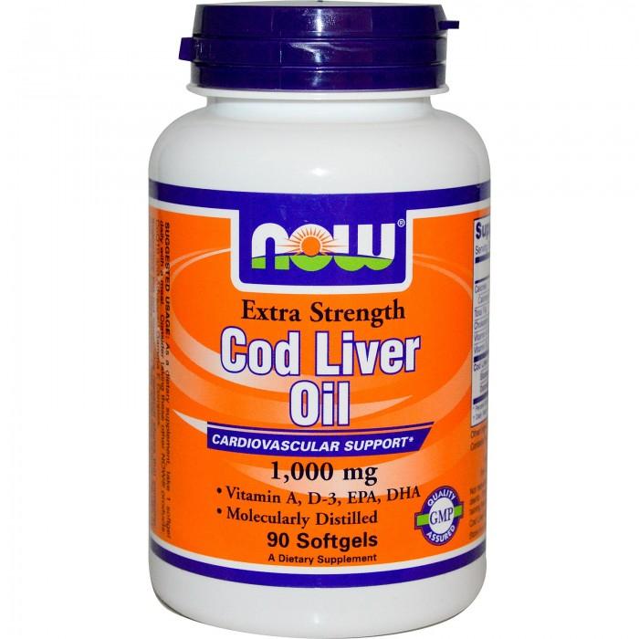 Cod Liver Oil (90 softgels)