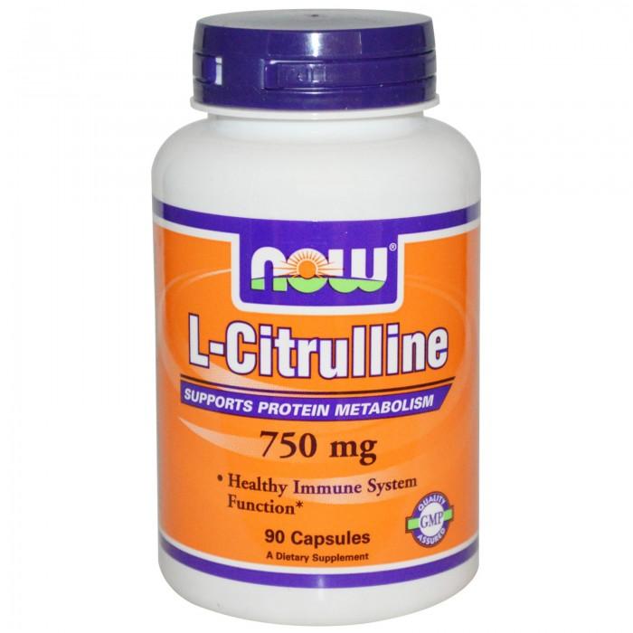 Citrulline 750 mg (90 veg капсулы)