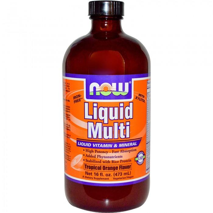 Liquid Multi (473 мл tropical)