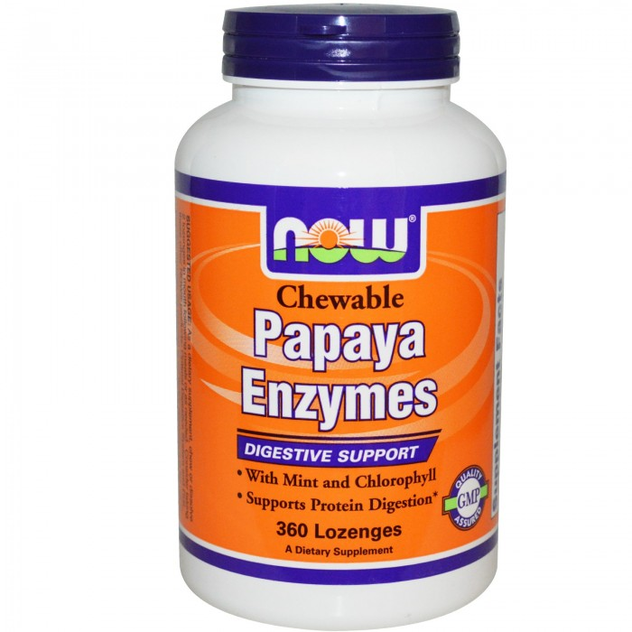 Chewable Papaya Enzyme (360 lozenges)