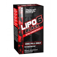Lipo 6 black Ultra Concentrate (60 black-caps)