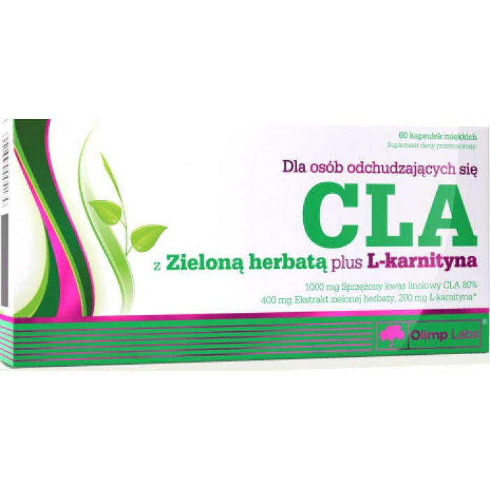 CLA with Green Tea plus L-Carnitine (60 капсул)