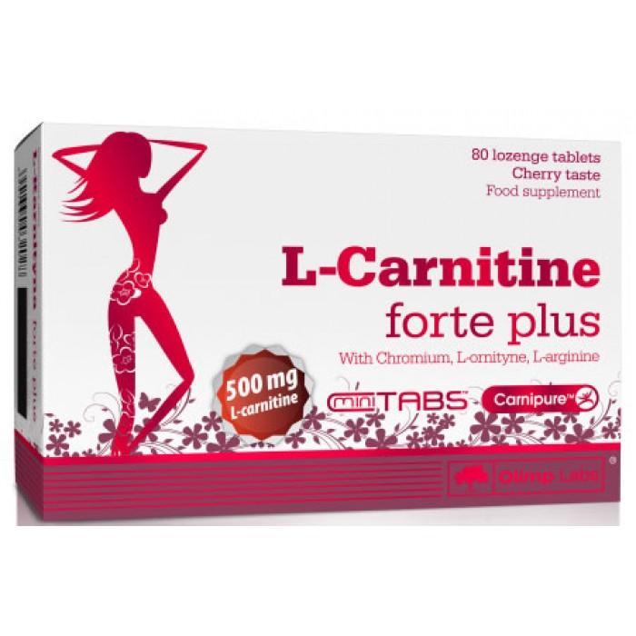 L-Karnityna forte plus (80 таблетс)