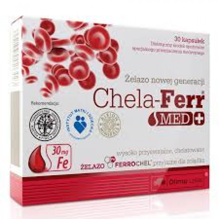 Chela-Ferr Med + (30 капсулы)