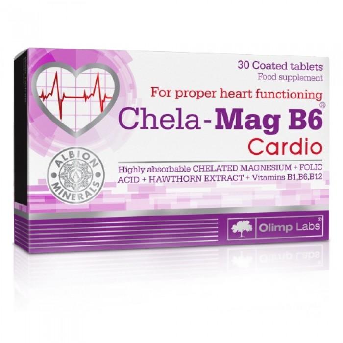 Chela-Mag B6 Cardio (30 таблетс)