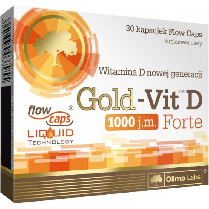 Gold-Vit D Forte (30 капсулы)