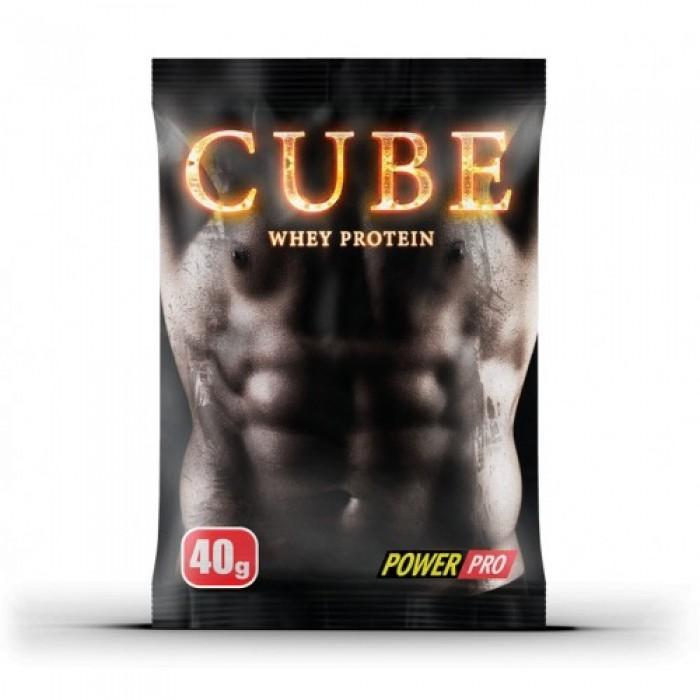 CUBE Whey Protein (40 грамм)