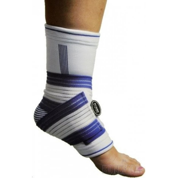 ANKLE SUPPORT PRO PS-6009 BLUE/WHITE L/XL